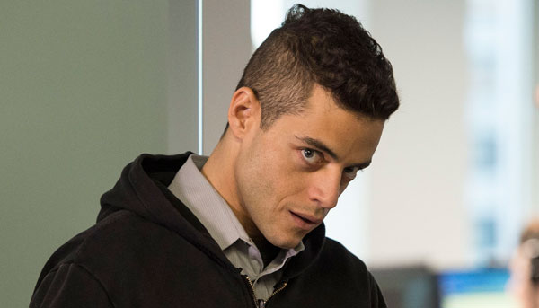"Rami Malek stars in ""Mr. Robot,"" premiering Wednesday on USA Network."